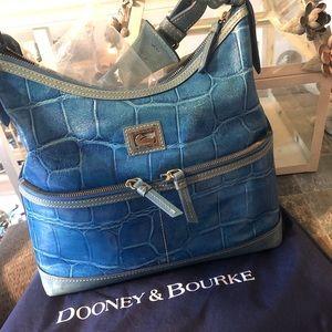 Blue Dooney and Bourke purse